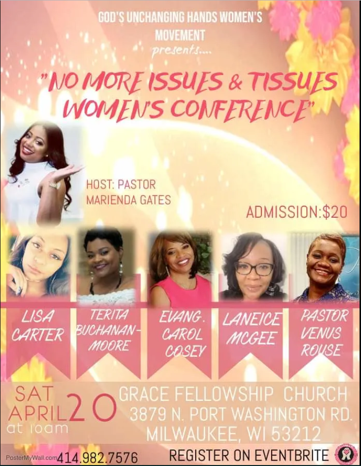 d81bcbd8b214 No More Issues   Tissues Women s Empowerment Conference – laneice leads